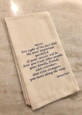 Barbara Bush Tea Towel