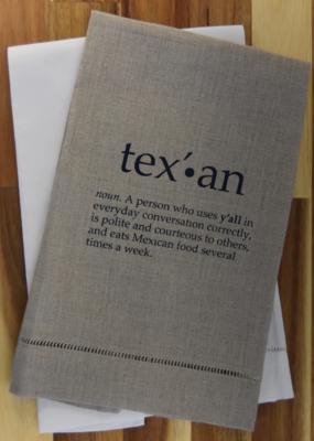 Texan Tea Towel