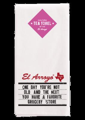 El Arroyo Tea Towel