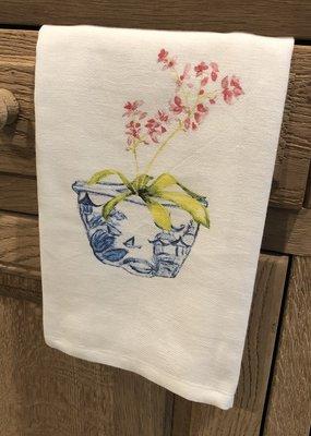 Flower in Vase Tea Towel