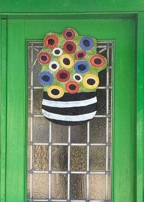 Bouquet Canvas Door Hanger
