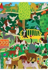 Dogs in the Park 1000 Pc Puzzle