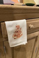 Pinecone Tea Towel - Cotton