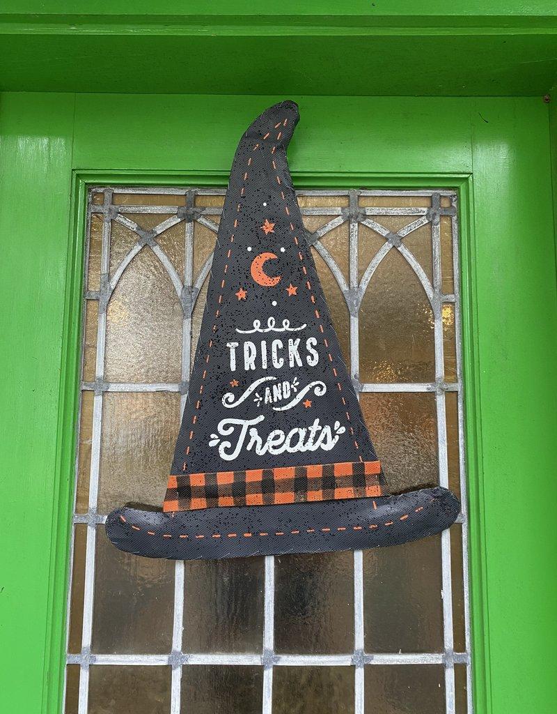 Tricks & Treats Canvas Door Hanger