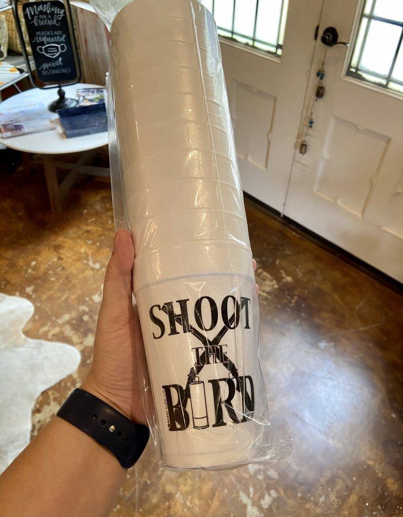 Shoot the Bird Cups Styro