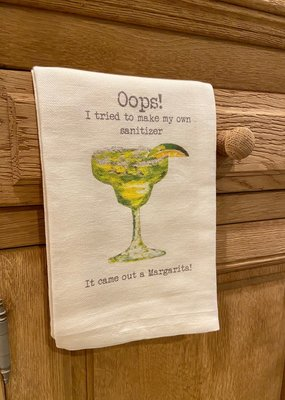 Margarita Hand Sanitizer Tea Towel | Cotton