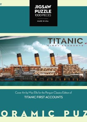 Titanic First Accounts Puzzle | 1000 piece