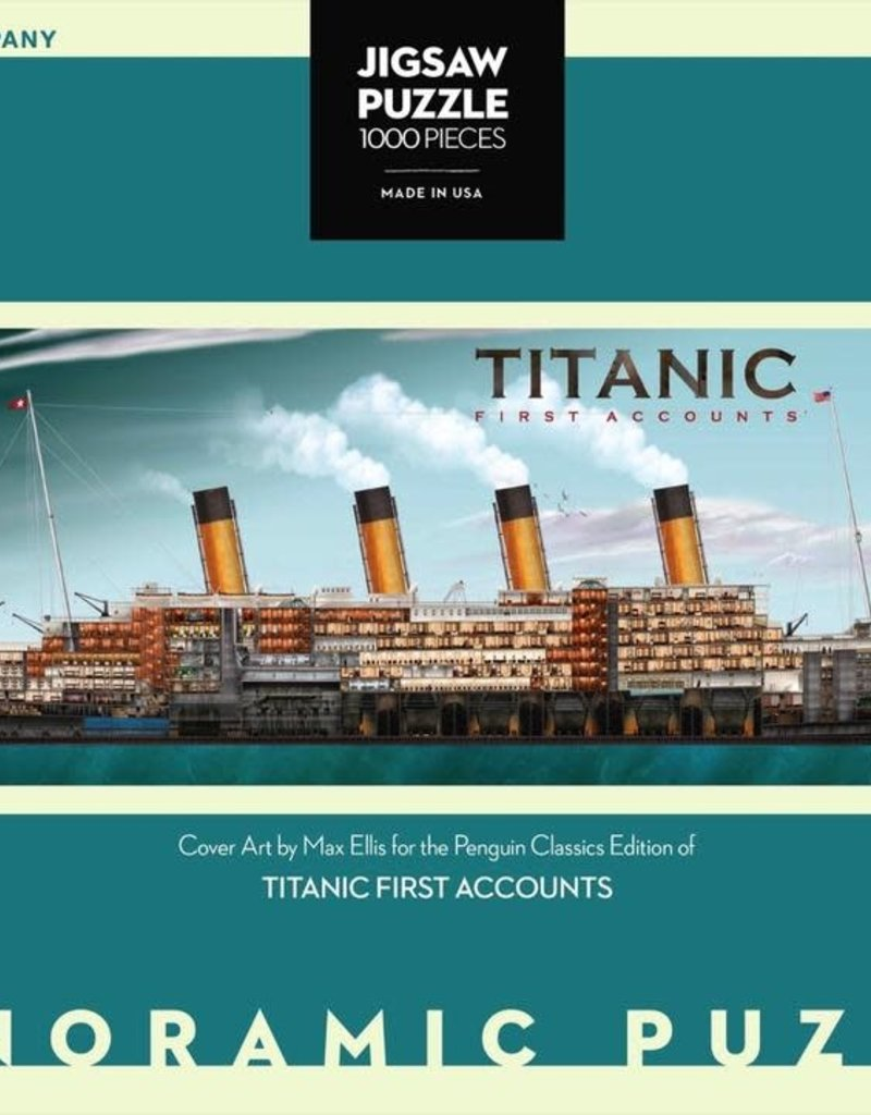 Titanic First Accounts Puzzle