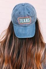 Rainbow Texas Hat