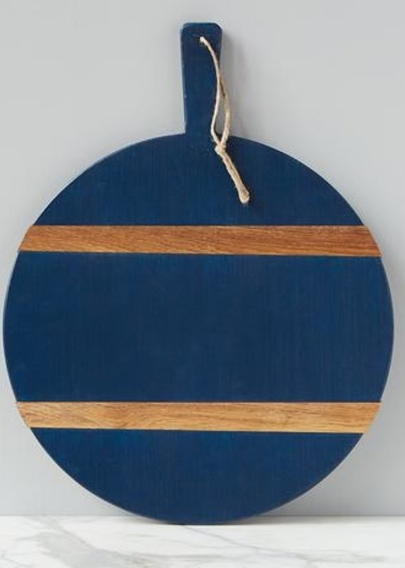 Round Charcuterie Board   Navy