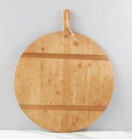 Round Pine Charcuterie Board | XL