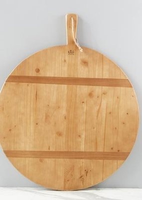 Round Pine Charcuterie Board | XL