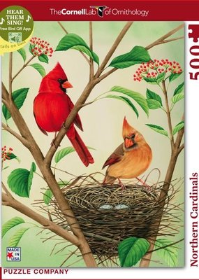 Northern Cardinals Puzzle | 500 piece