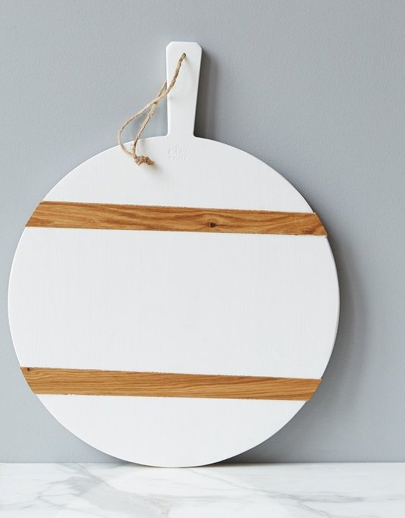 White Round Mod Charcuterie - M