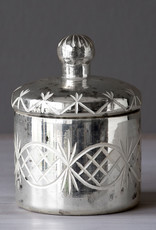 Mercury Etched Votive with Lid