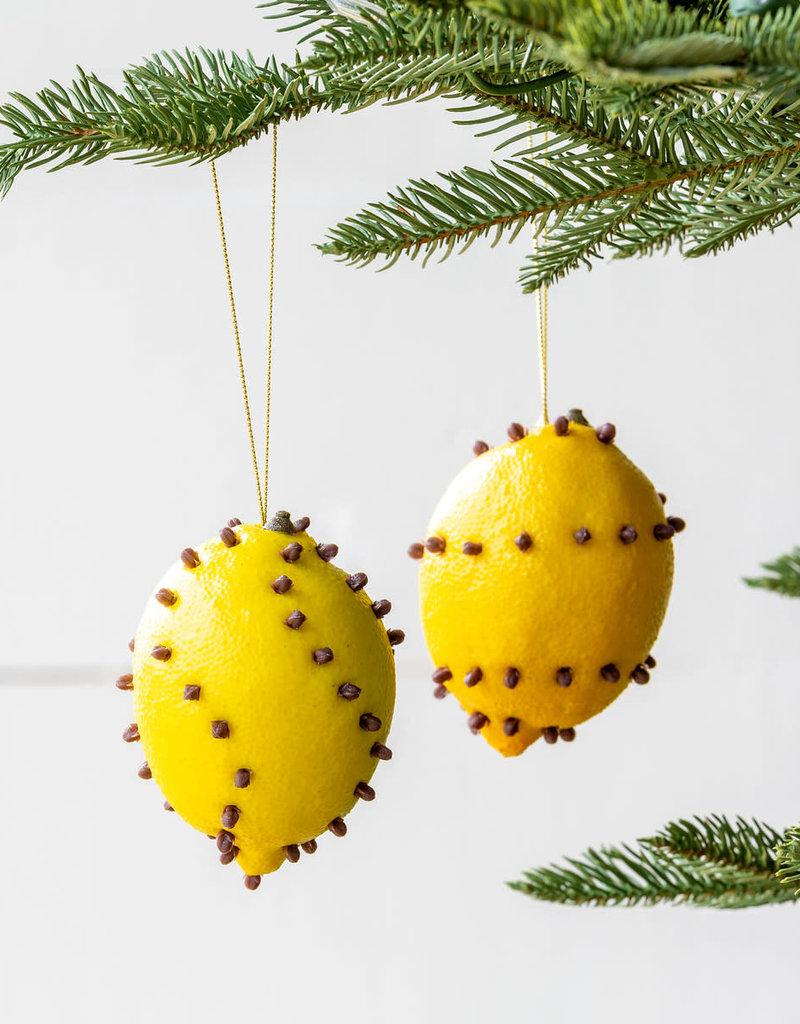 Cloved Lemon Ornament