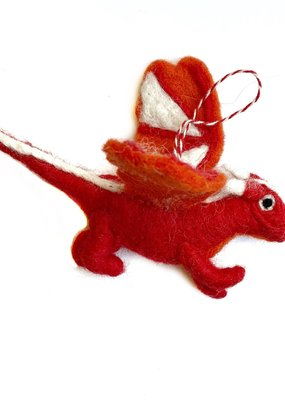 Wool Dragon Ornament