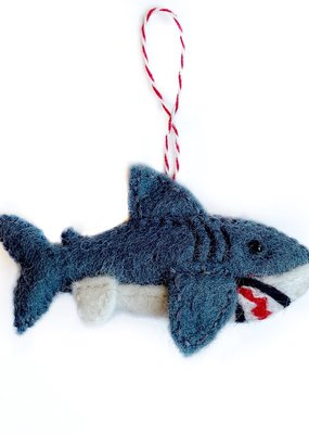 Wool Shark Ornament