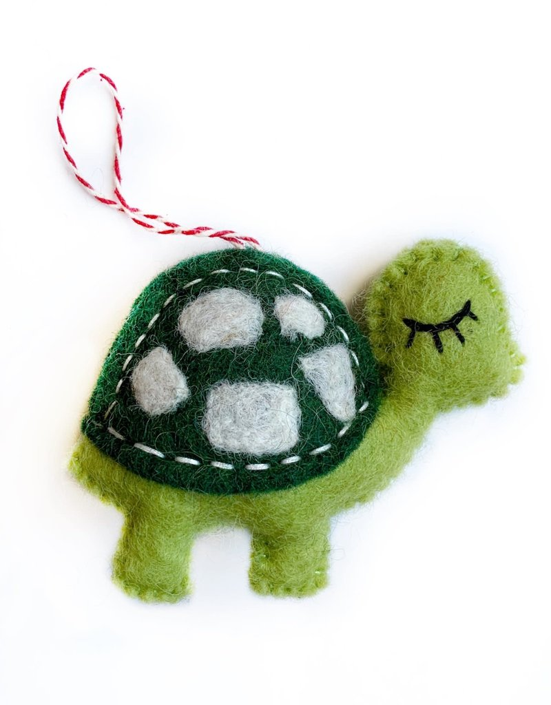 Wool Turtle Ornament