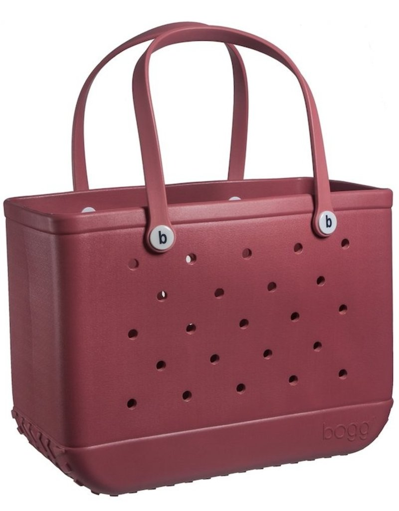 Large Maroon Bogg Bag