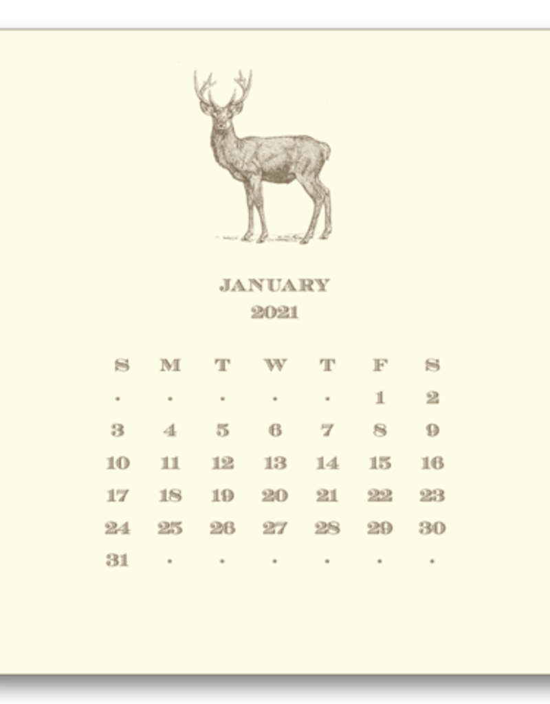 Hunt Calendar with Easel 2021