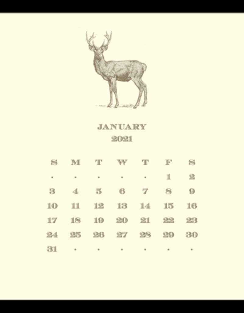 Hunt Calendar with Easel 2022