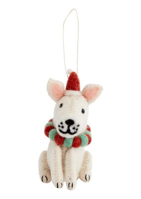 Frenchie Dog Ornament