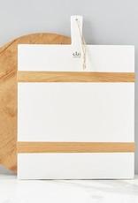 White Rectangle Mod Charcuterie Medium