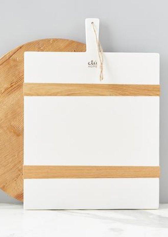 Mod Charcuterie Medium Board | White