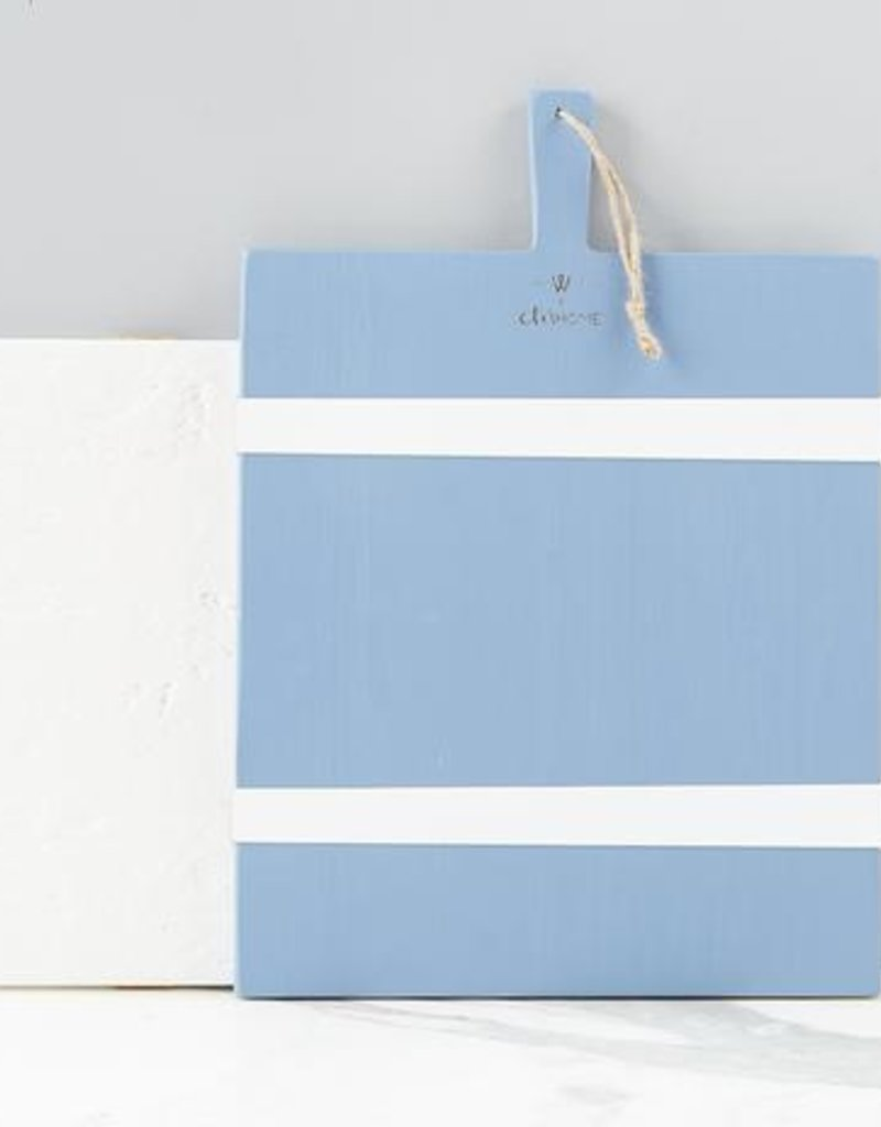French Blue and White Rectangle Board