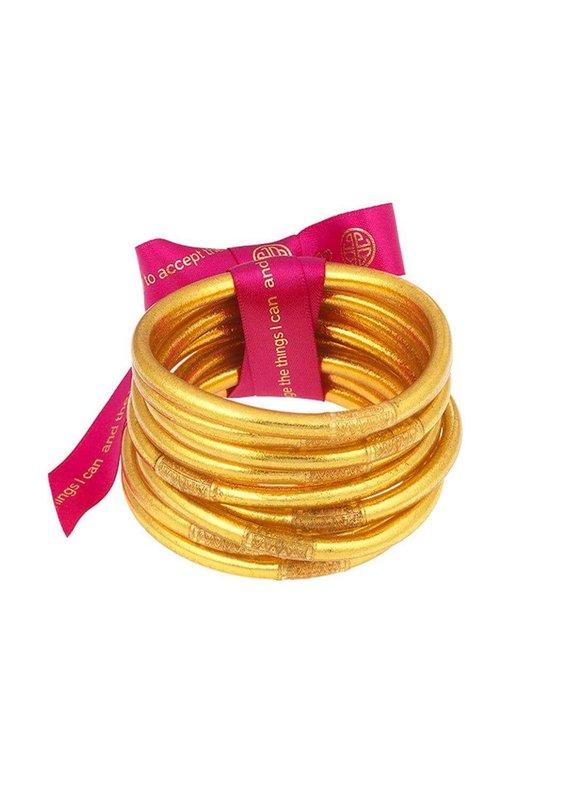 Gold Prayer Bangles
