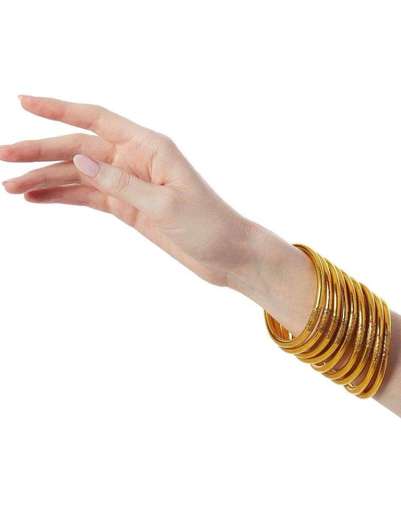 Gold Prayer Bangle