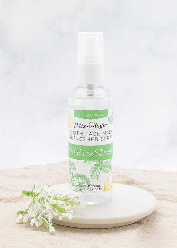 Face Mask Refresher Spray   Herbal Mint