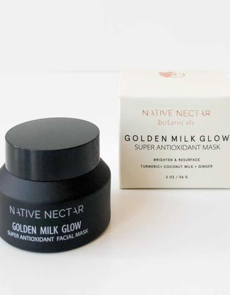 Golden Milk Glow Super Antioxidant Mask