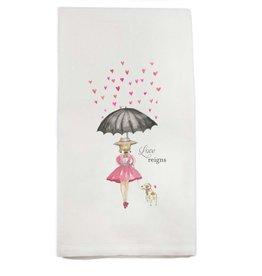 Love Reigns Tea Towel | Cotton