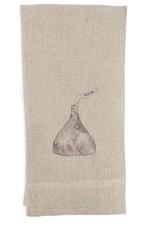 Kiss Me Linen Tea Towel