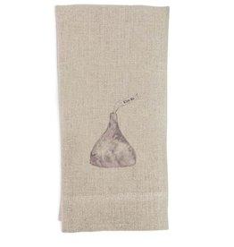 Kiss Me Tea Towel | Linen