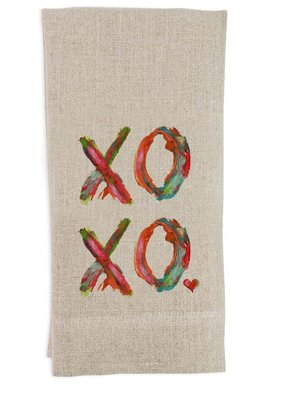 XOXO Tea Towel | Linen