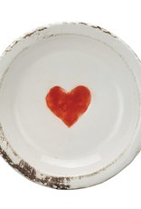 Terra-cotta Plate with Heart