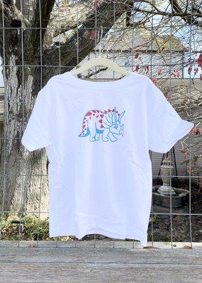 Kids Renovate Dino Heart Tee