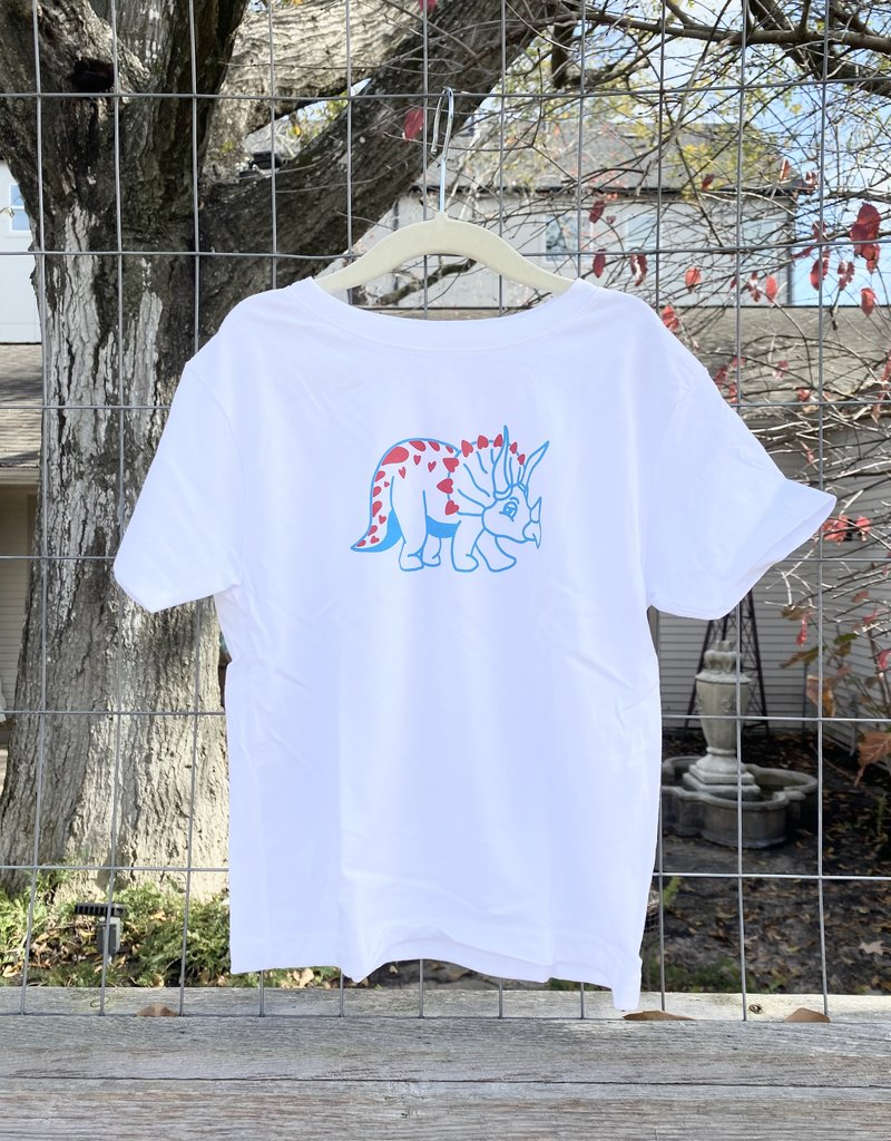 Kids Renovate Dino Heart Tee