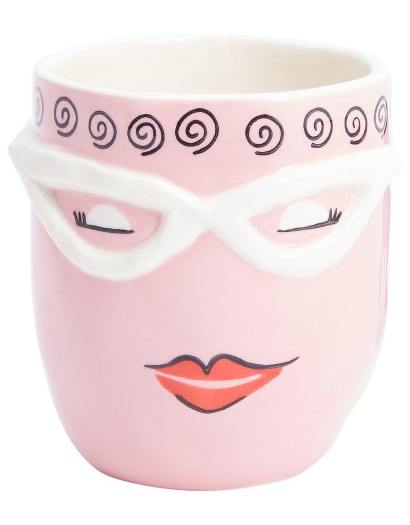 Flo Pink Fab Pot