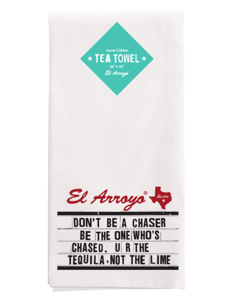 El Arroyo Tea Towel Chaser