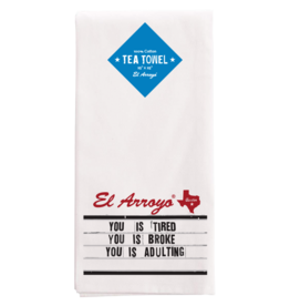 El Arroyo Tea Towel | Adulting