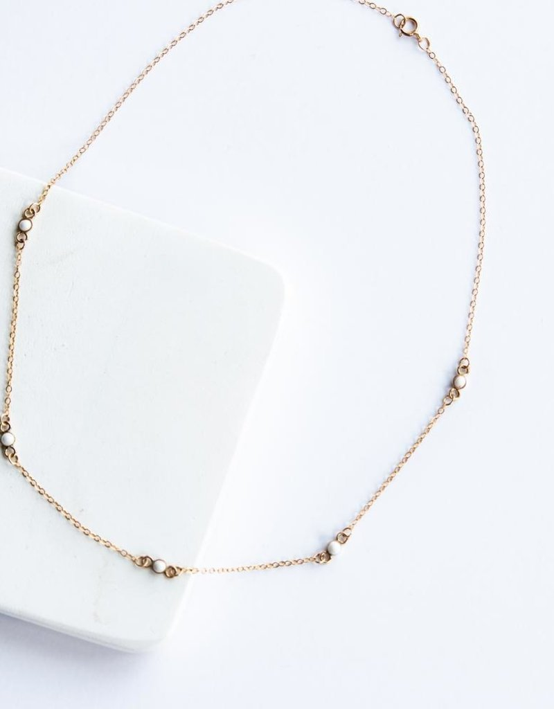 Mustard Seed Dainty Necklace