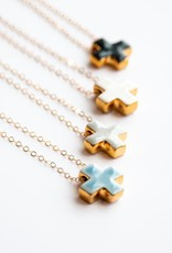 Meredith Cross Necklace