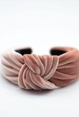 Velvet Thick Knotted Headband