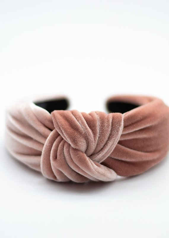 Velvet Thick Knotted Headband | 2 Colors Available
