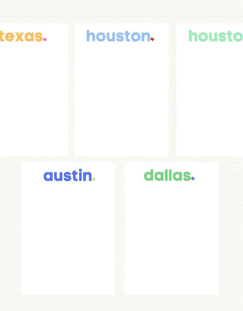 Texas Strong Notepad
