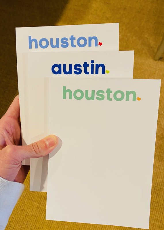 Texas Strong Notepad - 20% Benefitting Kids Meals
